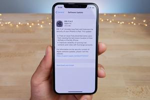 Apple phát hành iOS 11.4.1 với tính năng chống bẻ khóa iPhone