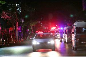 8 thành viên đội bóng nhí Thái Lan đã được giải cứu