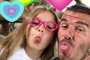 Công chúa Harper của vợ chồng Beckham xinh xắn đón sinh nhật 7 tuổi