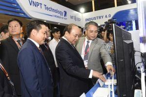 VNPT trình diễn nhiều giải pháp công nghệ 4.0 tại Industry Summit 2018