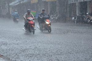 Áp thấp gây mưa lớn ở Bắc Bộ