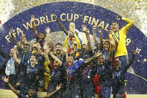 Đánh bại Croatia 4-2, Pháp lên ngôi vô địch thế giới