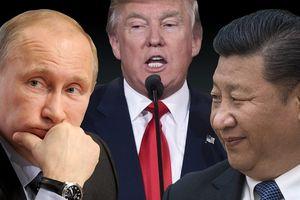 Chạy đua lấy lòng Nga, Mỹ đã thua trước Trung Quốc