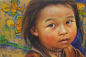 'Đa diện' qua ánh mắt trẻ thơ trong sáng, tư lự đầy ám ảnh của Lê Thế Anh