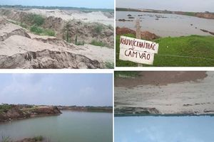 Mê Linh, Hà Nội: 'Cát tặc' hoành hành, đe dọa hành lang thoát lũ sông Hồng?