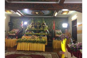 Tri ân các anh hùng liệt sĩ tại chùa Ba Vàng, Quảng Ninh