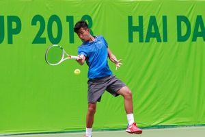 Nguyễn Văn Phương vào tứ kết đơn, bán kết đôi giải quần vợt U.18 quốc tế