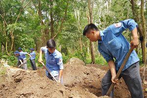 Bộ CHQS Kiên Giang quy tập hài cốt liệt sĩ tại huyện Phú Quốc
