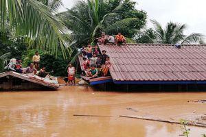 Vụ vỡ đập tại Lào: 131 người mất tích, hơn 3.000 người vẫn mắc kẹt giữa biển nước