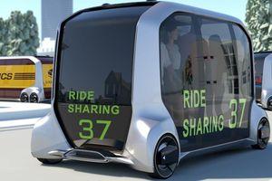 Olympics 2020 sẽ sử dụng hai concept xe kỳ lạ của Toyota