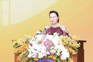 Chủ tịch Quốc hội: Hà Nội cần phát huy đoàn kết, vượt qua mọi khó khăn