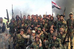 Quân đội Syria mở đợt tấn công quyết định ở Tây Nam Syria