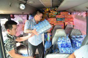 Sự cố vỡ đập ở Lào: Theo chuyến xe không hành khách hướng về Attapeu