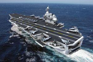 Trung Quốc đóng tàu sân bay mới giống hệt tàu của Mỹ