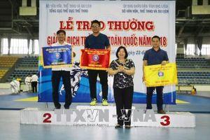Thành phố Hồ Chí Minh Nhất toàn đoàn Giải vô địch trẻ Judo toàn quốc năm 2018