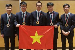 Việt Nam giành 2 Huy chương Vàng tại kỳ Olympic Vật lý 2018
