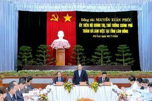 Thủ tướng chỉ ra tam giác vàng cho phát triển Lâm Đồng