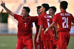 U16 Việt Nam thắng chật vật U16 Campuchia