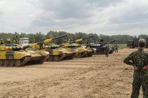 Xem đội Việt Nam thi đấu xe tăng quốc tế ở Nga