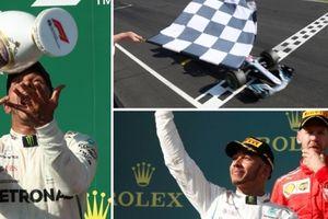 Không mắc sai lầm, Hamilton thắng chặng Hungary trước sự bất lực của đội đua Ferrari