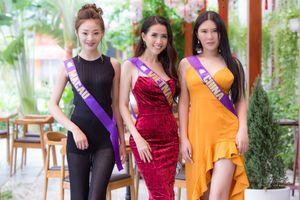 Phan Thị Mơ đọ dáng cùng các nhan sắc quốc tế