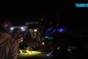 Tai nạn liên hoàn 4 ô tô trên quốc lộ 1A, 12 người thương vong
