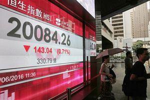 Chứng khoán châu Á giảm điểm do Mỹ tính nâng thuế với 200 tỷ USD hàng Trung Quốc