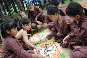 'Ngày hội tuổi thơ' tại Làng Văn hóa - Du lịch các dân tộc Việt Nam