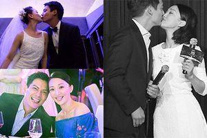 Ảnh ngọt ngào của Châu Tấn bên chồng trước tin đồn ly hôn
