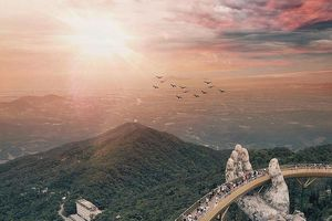 Báo nước ngoài khen Cầu Vàng Đà Nẵng đẹp như trong phim 'Chúa tể những chiếc nhẫn'