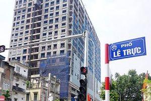 Hà Nội trả lời về đề xuất phá bỏ cả tòa nhà 8B Lê Trực