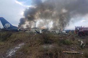 May mắn không có người tử vong trong vụ rơi máy bay ở Mexico