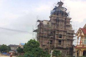 Hà Nội: Phát hiện 'lâu đài' được xây dựng trái phép trong hành lang bảo vệ đê?
