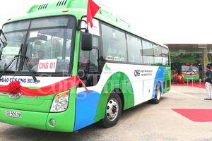 Hà Nội có xe buýt sử dụng nhiên liệu CNG thân thiện môi trường