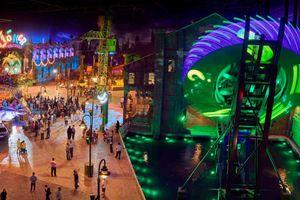 Chiêm ngưỡng công viên giải trí trong nhà lớn nhất thế giới ở Abu Dhabi