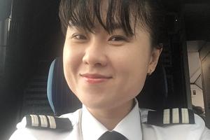 Nữ cơ trưởng trẻ nhất Việt Nam