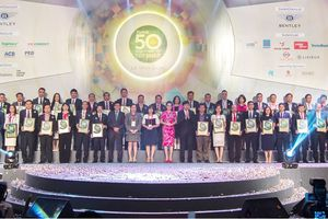 Đất Xanh vào top 50 công ty niêm yết tốt nhất 6 năm liền