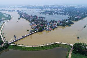 Ngập lụt ở Chương Mỹ: 6000 người dân phải sơ tán