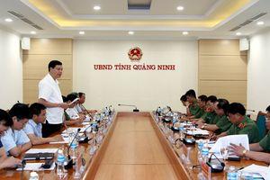 Thanh tra Bộ Công an lấy ý kiến dự thảo kết luận tại Quảng Ninh