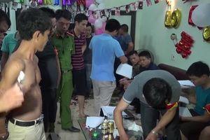 Thái Bình: Bắt quả tang 50 đối tượng tụ tập sử dụng ma túy