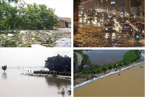 Tin tức Hà Nội 24h: Mưa lớn dai dẳng đến hết tuần; Nước bao vây, bệnh rình rập vùng ngoại thành