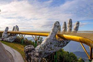 Cầu Vàng của Việt Nam là một trong những cây cầu nổi bật nhất thế giới