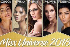 Mỹ nhân chuyển giới 'vượt mặt' H'Hen Niê trong Top ứng viên sáng giá tại Miss Universe 2018