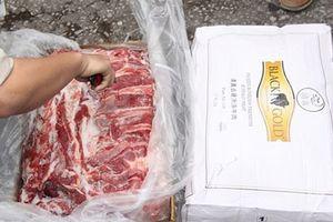 Xử lý lô hàng 168,25 tấn thịt trâu đông lạnh bị tịch thu theo quy định của pháp luật