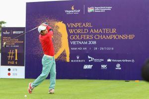 Các nghệ sĩ tranh tài ở giải đấu WAGC tại Vinpearl Golf Nam Hội An