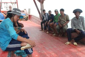 Lừa bán lao động đi biển: Giải cứu 12 người
