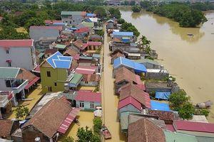 Ngập lụt ngoại thành Hà Nội: Tìm giải pháp cho vùng rốn lũ