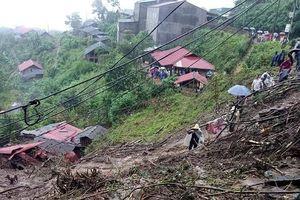 Mưa lũ kinh hoàng tại Lai Châu: 6 người chết, 5 người mất tích