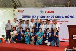 Đoàn bác sĩ Đài Loan khám, phát thuốc miễn phí cho người dân Đồng Nai