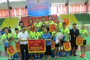 Bế mạc Giải Thể thao năm 2018: Đoàn Công đoàn Bộ Tài chính đoạt giải Nhất toàn đoàn